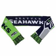 Seattle Seahawks Split Logo Reverse Scarf