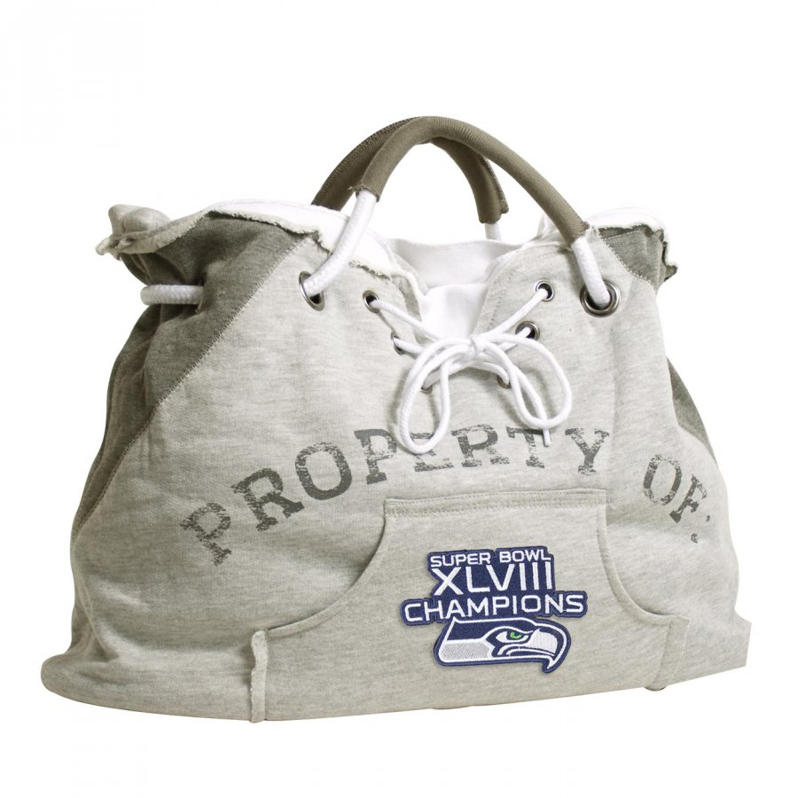 Seattle Seahawks Super Bowl Hoodie Tote Bag