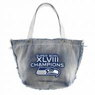 Seattle Seahawks Super Bowl NFL Vintage Tote Bag