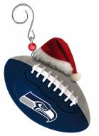 Seattle Seahawks Team Ball Tree Ornament