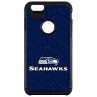 Seattle Seahawks Team Color Pebble Grain iPhone 6/6s Plus Case