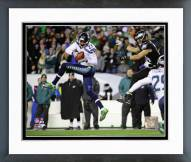 Seattle Seahawks Tharold Simon 2014 Action Framed Photo