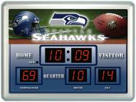 Seattle Seahawks Thermometer Scoreboard Clock