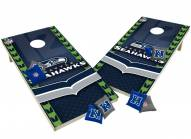 Seattle Seahawks XL Shields Cornhole Game