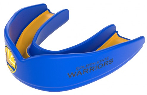 Shock Doctor Superfit NBA Golden State Warriors Youth Strapless Mouth Guard