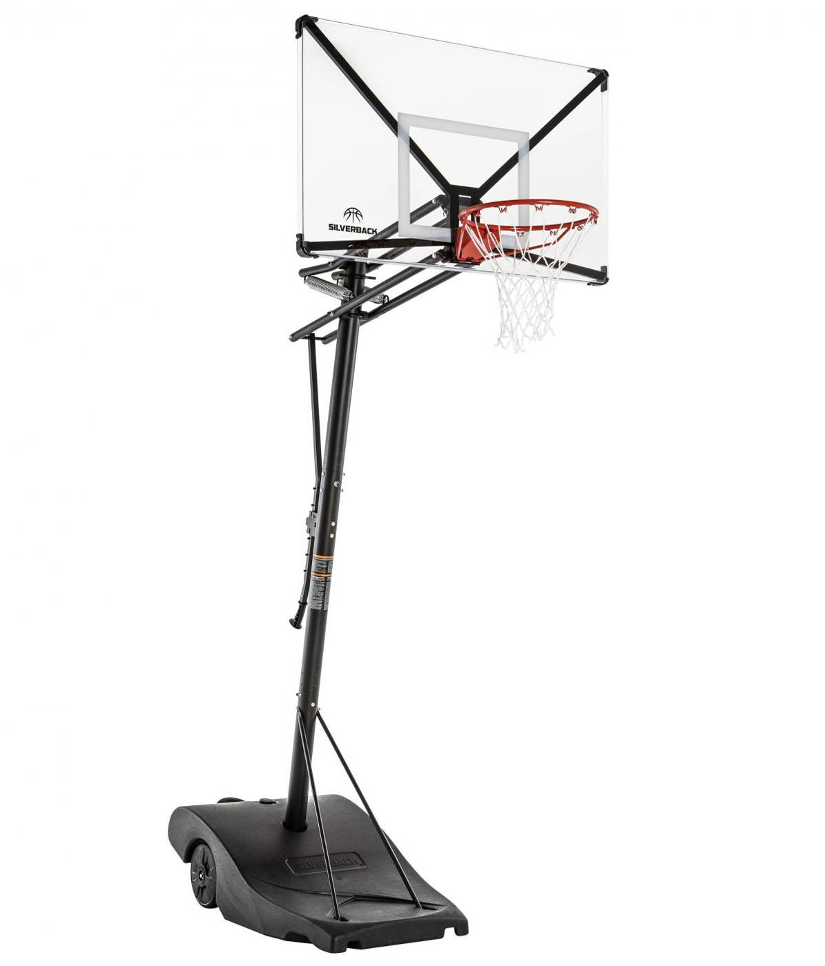 Home Design And Outlet Center Silverback Nxt 50 Portable Basketball Hoop