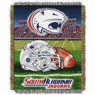 South Alabama Jaguars Home Field Advantage Throw Blanket