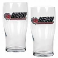 South Carolina Gamecocks 20 oz. Pub Glass - Set of 2