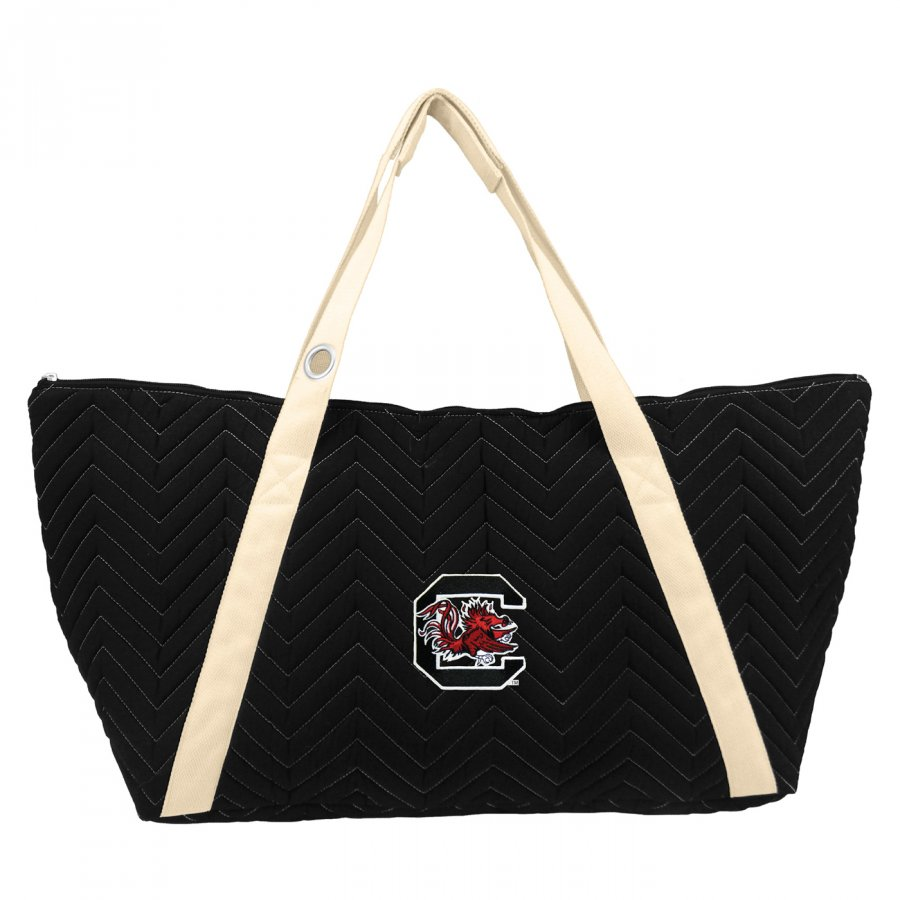 South Carolina Gamecocks Chevron Stitch Weekender Bag