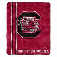 South Carolina Gamecocks Jersey Sherpa Blanket