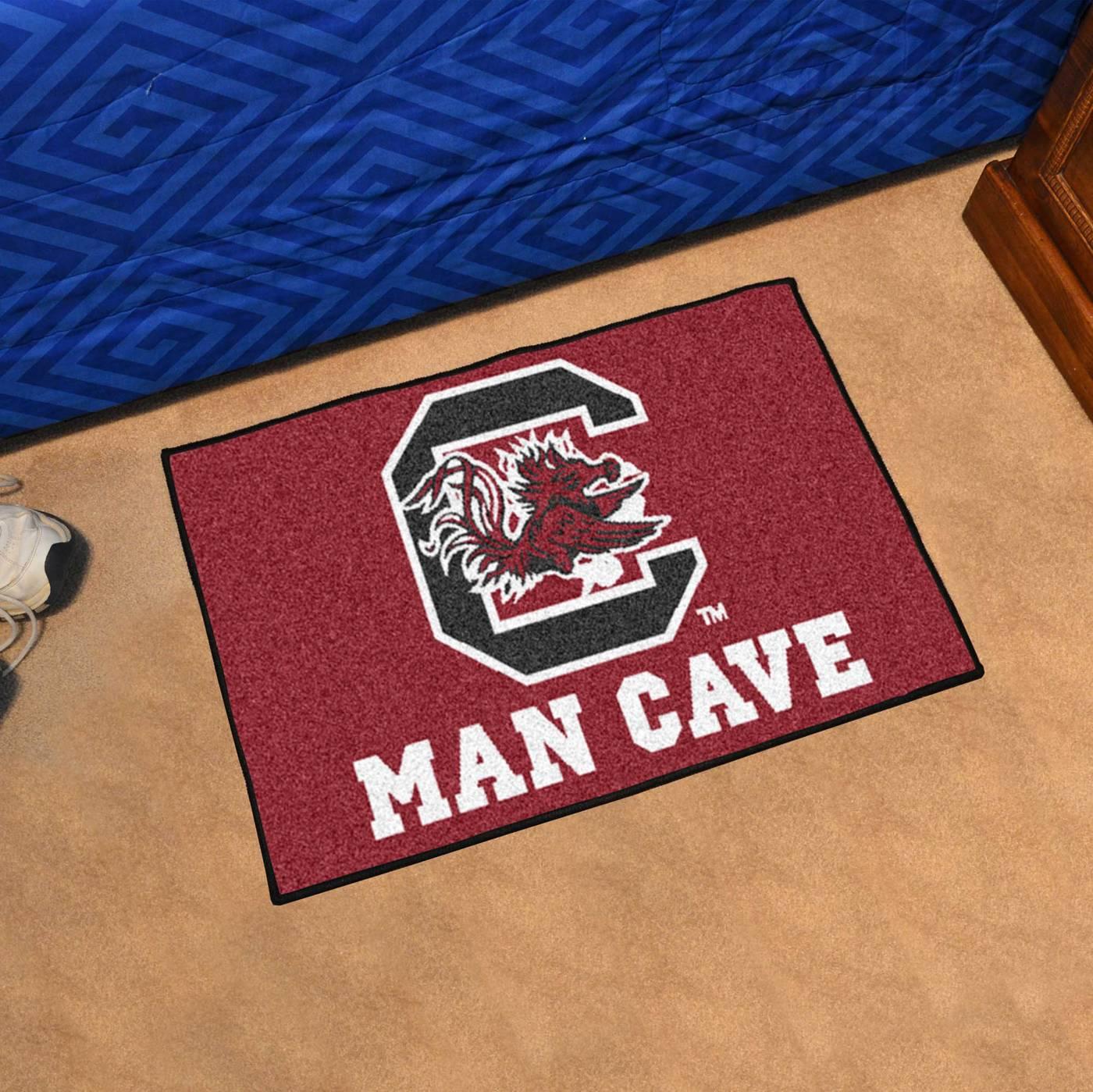 Man Cave Store South Carolina : South carolina gamecocks man cave starter mat