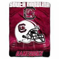South Carolina Gamecocks Micro Raschel Overtime Blanket