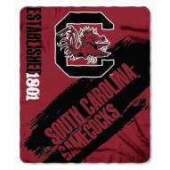 South Carolina Gamecocks Painted Fleece Blanket