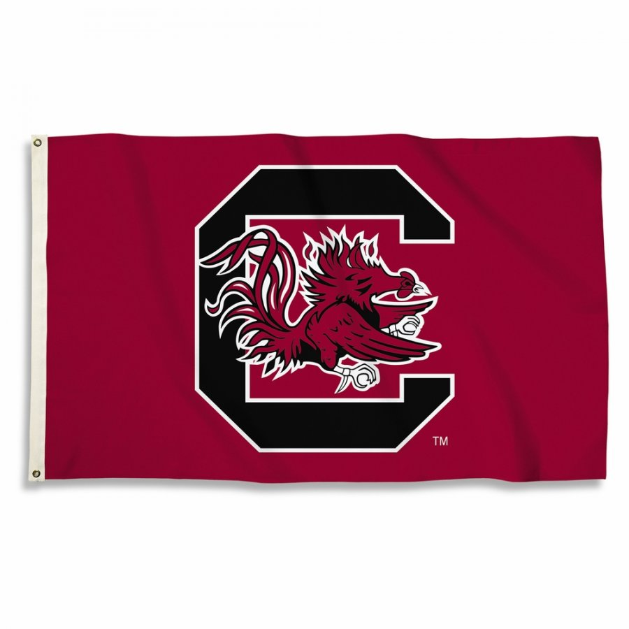 South Carolina Gamecocks Red 3' x 5' Flag