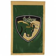 "South Florida Bulls 28"" x 44"" Double Sided Applique Flag"