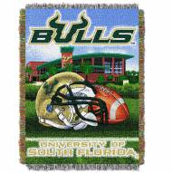 South Florida Bulls Home Field Advantage Throw Blanket