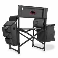 Southern Illinois Salukis Gray/Black Fusion Folding Chair