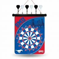 Southern Methodist Mustangs Magnetic Dart Board