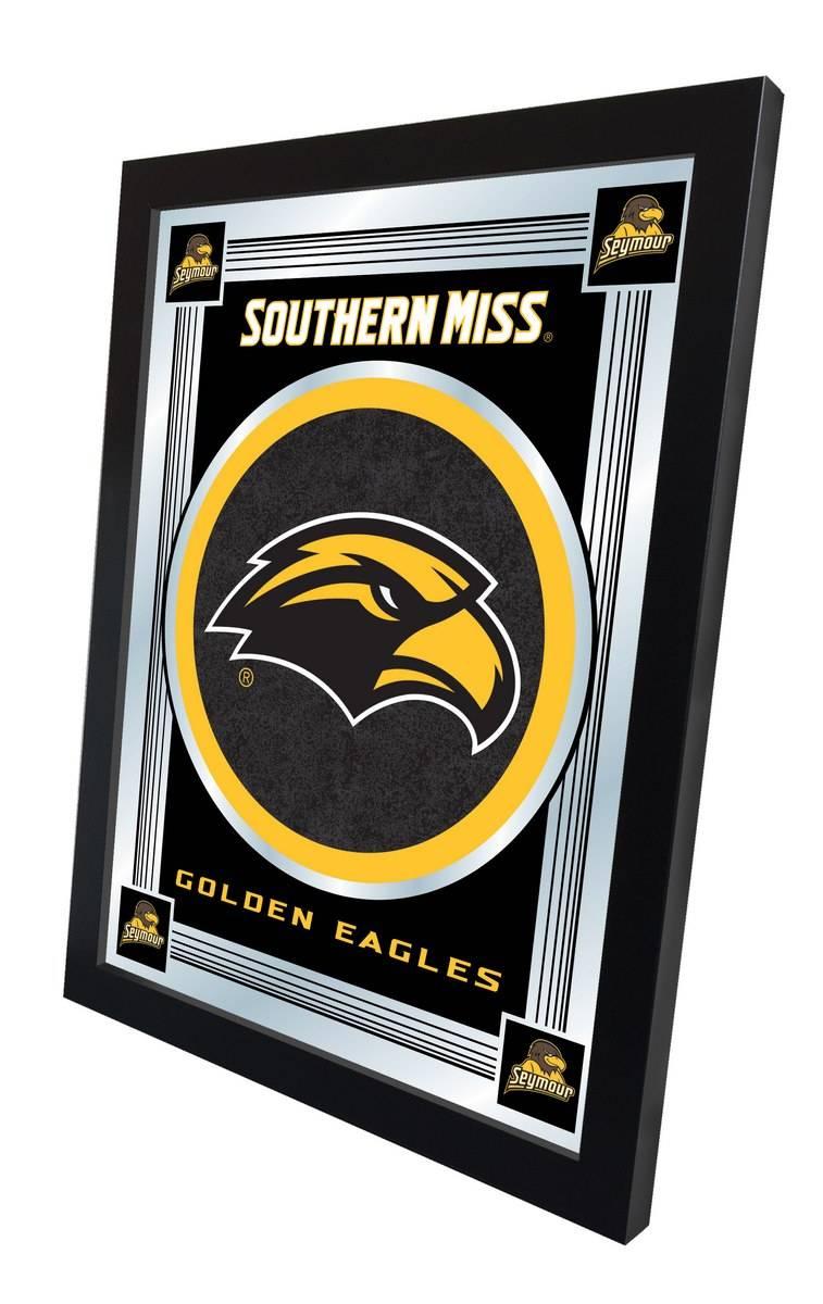 Southern Mississippi Golden Eagles Logo Mirror