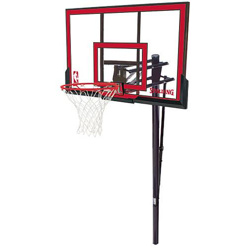 Spalding NBA 88354PR In Ground Adjustable Basketball Hoop