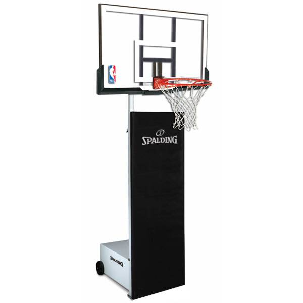 spalding 60 acrylic portable basketball hoop instructions