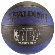 Spalding NBA Varsity Outdoor Basketball - Blue/Black (28.5)