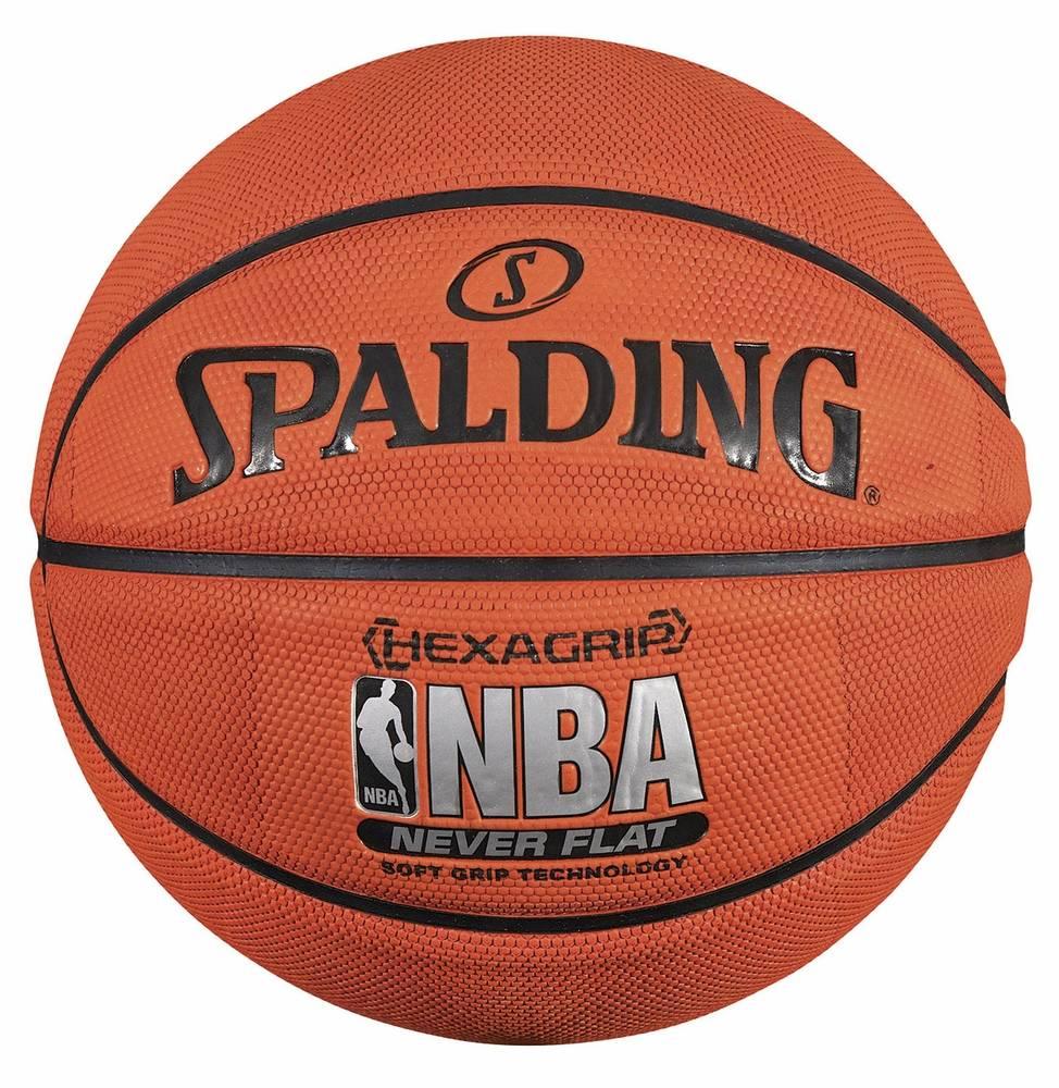 spalding neverflat hexagrip soft grip basketball. Black Bedroom Furniture Sets. Home Design Ideas