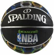 Spalding Neverflat NBA Hexagrip Basketball
