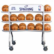 Spalding Official NBA Basketball Ball Rack