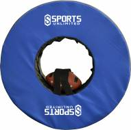 """Sports Unlimited 36"""" Football Tackling Ring with Straps"""