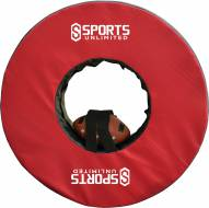 """Sports Unlimited 40"""" Football Tackling Ring with Straps"""