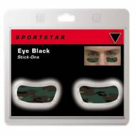 SportStar Attitude Design Camo Eye Black Stickers