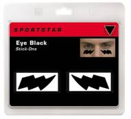 SportStar Attitude Design Eye Black Stickers w / Lightning Bolt