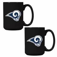 St. Louis Rams NFL 2-Piece Ceramic Coffee Mug Set