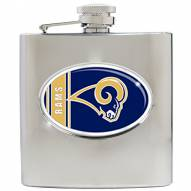 St. Louis Rams NFL 6 Oz. Stainless Steel Hip Flask