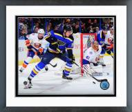 St. Louis Blues Alexander Steen 2014-15 Action Framed Photo