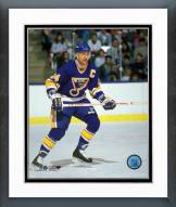 St. Louis Blues Bernie Federko Action Framed Photo
