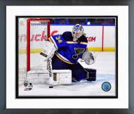 St. Louis Blues Jake Allen 2014-15 Action Framed Photo