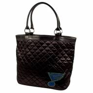 St. Louis Blues Sport Noir Quilted Tote