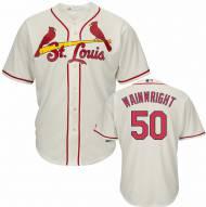 St. Louis Cardinals Adam Wainwright Replica Ivory Alternate Baseball Jersey