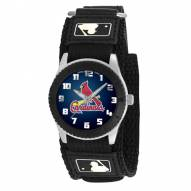 St. Louis Cardinals Black Rookie Kids Watch