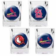 St. Louis Cardinals Collector's Shot Glass Set