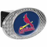 St. Louis Cardinals Metal Diamond Plate Trailer Hitch Cover