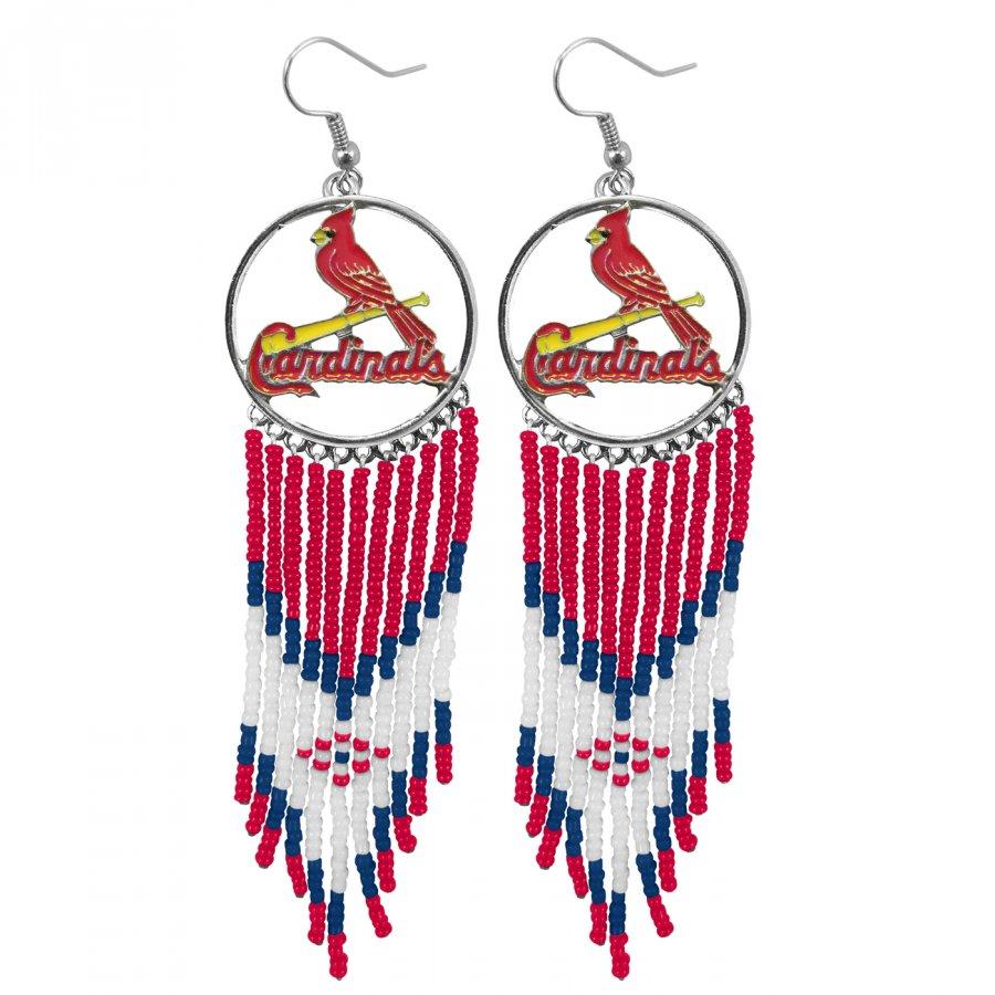 St. Louis Cardinals Dreamcatcher Earrings
