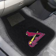 St. Louis Cardinals Embroidered Car Mats