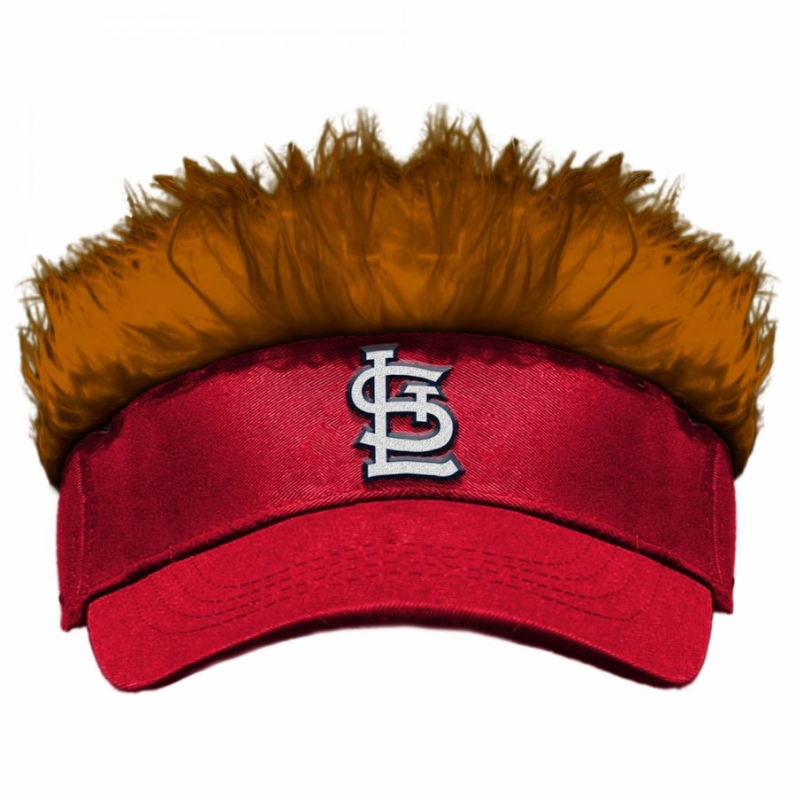 St. Louis Cardinals Flair Hair Visor