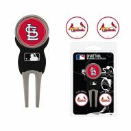 St. Louis Cardinals Golf Divot Tool Pack