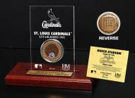 St. Louis Cardinals Infield Dirt Etched Acrylic
