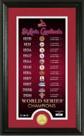 St. Louis Cardinals Legacy Supreme Bronze Coin Panoramic Photo Mint