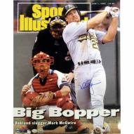 """St. Louis Cardinals Mark McGwire Big Bopper SI Cover Signed 16"""" x 20"""" Photo"""